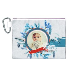 Xmas By 2016   Canvas Cosmetic Bag (large)   Yphdgjpjngds   Www Artscow Com Front