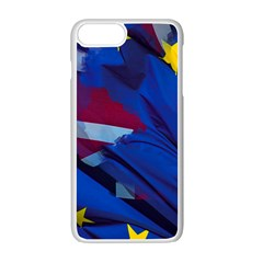 Brexit Referendum Uk Apple iPhone 7 Plus White Seamless Case by Zeze