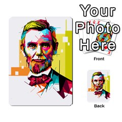 Abraham Lincoln Multi Purpose Cards (rectangle)  by bhazkaragriz