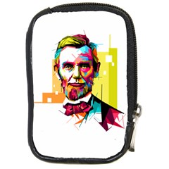Abraham Lincoln Compact Camera Cases by bhazkaragriz