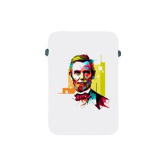 Abraham Lincoln Apple Ipad Mini Protective Soft Cases by bhazkaragriz