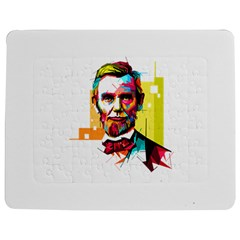 Abraham Lincoln Jigsaw Puzzle Photo Stand (rectangular)