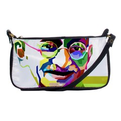 Ghandi Shoulder Clutch Bags by bhazkaragriz