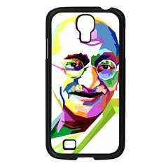 Ghandi Samsung Galaxy S4 I9500/ I9505 Case (black)