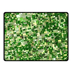 Crops Kansas Fleece Blanket (Small) by Zeze