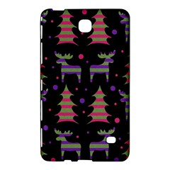 Reindeer Magical Pattern Samsung Galaxy Tab 4 (7 ) Hardshell Case  by Valentinaart