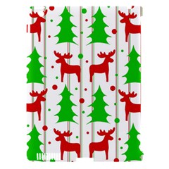 Reindeer Elegant Pattern Apple Ipad 3/4 Hardshell Case (compatible With Smart Cover) by Valentinaart