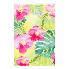 Tropical Dream Hibiscus Pattern Shower Curtain 48  X 72  (small)  by DanaeStudio