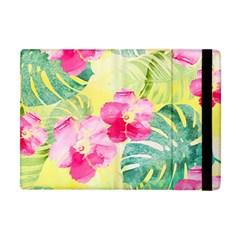 Tropical Dream Hibiscus Pattern Apple Ipad Mini Flip Case by DanaeStudio