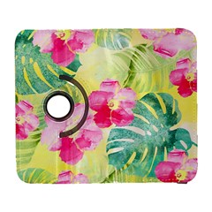 Tropical Dream Hibiscus Pattern Galaxy S3 (flip/folio) by DanaeStudio