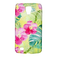 Tropical Dream Hibiscus Pattern Galaxy S4 Active by DanaeStudio