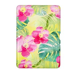 Tropical Dream Hibiscus Pattern Samsung Galaxy Tab 2 (10 1 ) P5100 Hardshell Case  by DanaeStudio