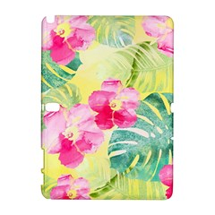 Tropical Dream Hibiscus Pattern Galaxy Note 1 by DanaeStudio