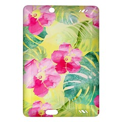 Tropical Dream Hibiscus Pattern Amazon Kindle Fire Hd (2013) Hardshell Case by DanaeStudio