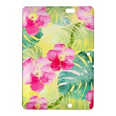 Tropical Dream Hibiscus Pattern Kindle Fire Hdx 8 9  Hardshell Case by DanaeStudio