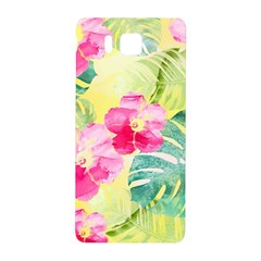 Tropical Dream Hibiscus Pattern Samsung Galaxy Alpha Hardshell Back Case