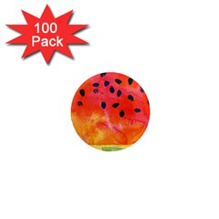 Abstract Watermelon 1  Mini Magnets (100 Pack)  by DanaeStudio