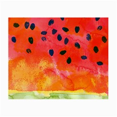 Abstract Watermelon Small Glasses Cloth by DanaeStudio