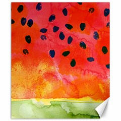 Abstract Watermelon Canvas 20  X 24   by DanaeStudio