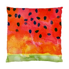Abstract Watermelon Standard Cushion Case (two Sides) by DanaeStudio