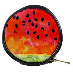 Abstract Watermelon Mini Makeup Bags by DanaeStudio