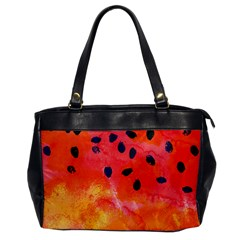 Abstract Watermelon Office Handbags by DanaeStudio