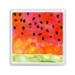 Abstract Watermelon Memory Card Reader (square)  by DanaeStudio