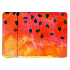 Abstract Watermelon Samsung Galaxy Tab 8 9  P7300 Flip Case by DanaeStudio