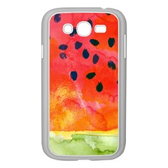 Abstract Watermelon Samsung Galaxy Grand Duos I9082 Case (white) by DanaeStudio