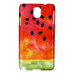 Abstract Watermelon Samsung Galaxy Note 3 N9005 Hardshell Case by DanaeStudio