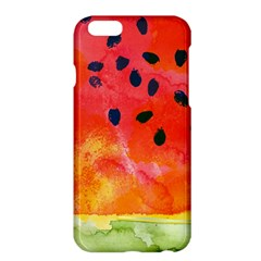 Abstract Watermelon Apple Iphone 6 Plus/6s Plus Hardshell Case by DanaeStudio