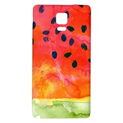 Abstract Watermelon Galaxy Note 4 Back Case by DanaeStudio