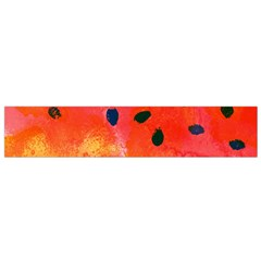 Abstract Watermelon Flano Scarf (small) by DanaeStudio
