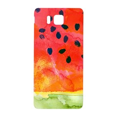 Abstract Watermelon Samsung Galaxy Alpha Hardshell Back Case by DanaeStudio