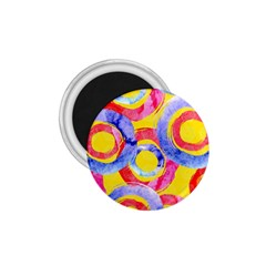 Blue And Pink Dream 1 75  Magnets by DanaeStudio