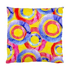 Blue And Pink Dream Standard Cushion Case (two Sides) by DanaeStudio