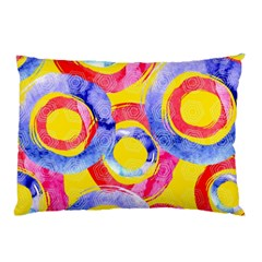 Blue And Pink Dream Pillow Case (two Sides) by DanaeStudio