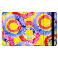 Blue And Pink Dream Apple Ipad 3/4 Flip Case by DanaeStudio