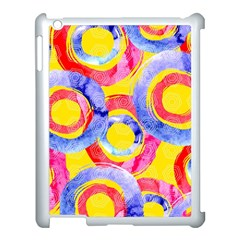 Blue And Pink Dream Apple Ipad 3/4 Case (white) by DanaeStudio