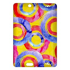 Blue And Pink Dream Amazon Kindle Fire Hd (2013) Hardshell Case by DanaeStudio