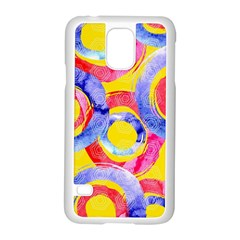 Blue And Pink Dream Samsung Galaxy S5 Case (white) by DanaeStudio