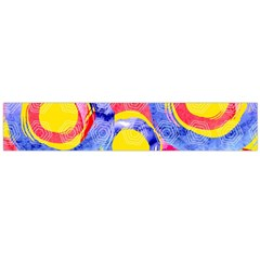 Blue And Pink Dream Flano Scarf (large) by DanaeStudio