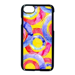 Blue And Pink Dream Apple Iphone 7 Seamless Case (black) by DanaeStudio