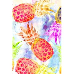 Colorful Pineapples Over A Blue Background 5 5  X 8 5  Notebooks by DanaeStudio