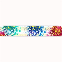 Colorful Dahlias Small Bar Mats