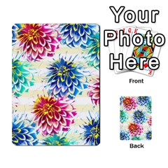 Colorful Dahlias Multi-purpose Cards (Rectangle)