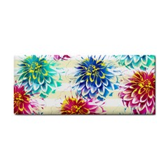 Colorful Dahlias Cosmetic Storage Cases by DanaeStudio