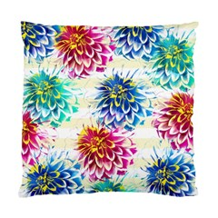 Colorful Dahlias Standard Cushion Case (One Side)