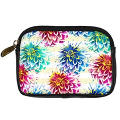 Colorful Dahlias Digital Camera Cases