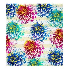Colorful Dahlias Shower Curtain 66  x 72  (Large)